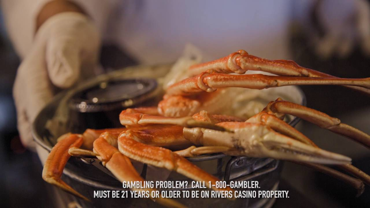 Rivers Casino Crab Legs & Rivers Casino Crab Legs - YouTube