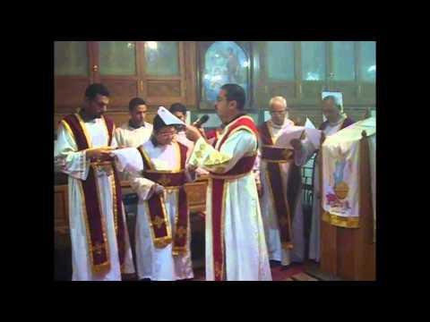 عشية عيد استشهاد أمير الشهداء مارجرجس - كنيسة الملاك و الروماني ، المطرية