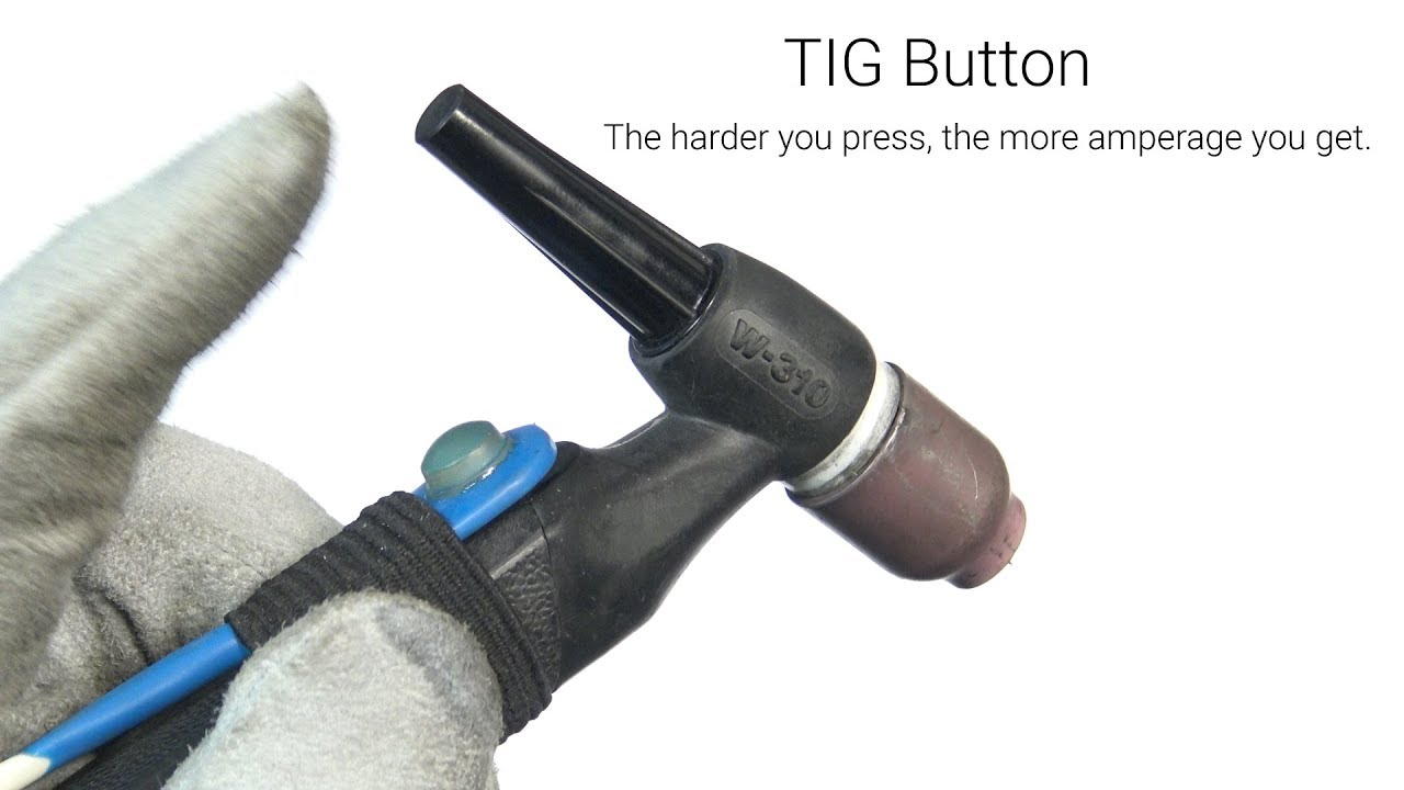 tig button - variable amperage controller for tig welding- full install