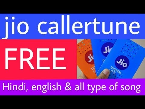 RELIANCE Jio Sim | Set Free Callertune | Hindi, English, gujarati, all languages song | Explain