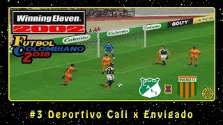Winning Eleven 2002: Fútbol Colombiano 2018 (PS1) #3 Deportivo Cali x Envigado