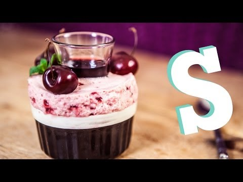 How To Make Cherry Soufflé Mousse Recipe - Homemade by SORTED