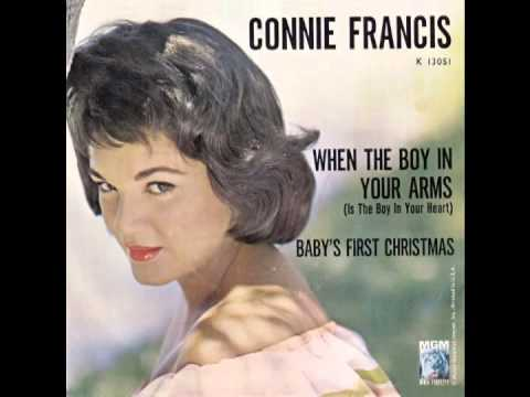"Connie Francis – ""Baby's First Christmas""..."