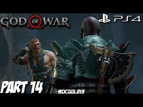 God of War (2018) Gameplay Walkthrough Part 14 - Sons of Thor Boss Fight - PS4 Lets Play