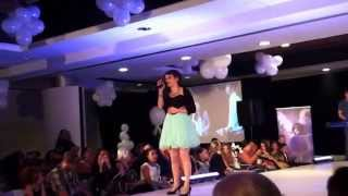 "Performance of ""A Thousand Years"" at Child Model Magazine's Summer Fashion Parade"