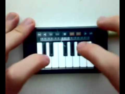 пианино для телефона