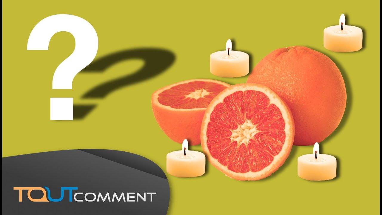 Faire une bougie avec une orange youtube - Comment dessiner une bougie ...