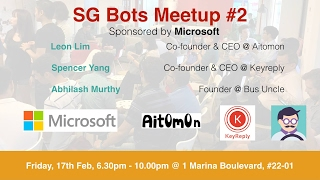 Panel Discussion - SG Bots Meetup #2