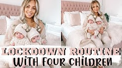 LOCKDOWN/QUARANTINE ROUTINE MUM OF 4 | Lucy Jessica Carter