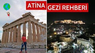 ATİNA GEZİ REHBERİ - Tarih, Kültür ve Eğlencenin Başkenti Atina!