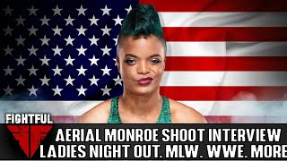 Aerial Monroe 2018 Shoot Interview: MYC Appearance, MLW Work, Impact-ROH Possibilities