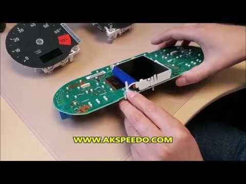Audi TT Speedometer LCD Pixel Repair (Part 2)