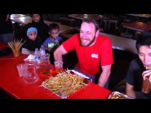 Joey Chestnut Breaks Satay record in Singapore