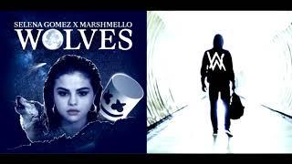 Wolves // faded [remix mashup] - selena gomez & marshmello x alan walker