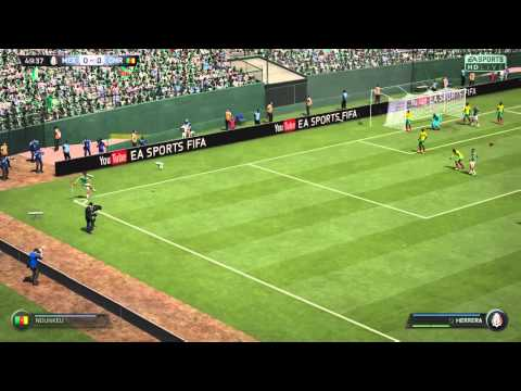World Cup 2014 - Mexico vs Cameroon - EA Sports FIFA 15