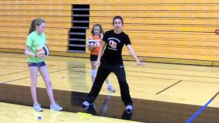The Basics Of Volleyball - Serving