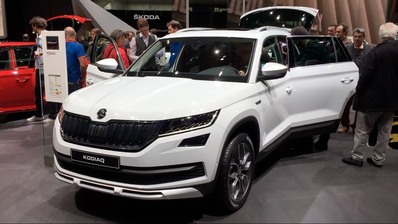skoda kodiaq scout 4x4 2017 in detail review walkaround interior exterior youtube. Black Bedroom Furniture Sets. Home Design Ideas
