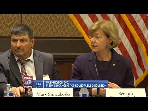 WEAU: Baldwin: Simcakoski Act saving lives