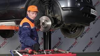 Instalação Braço transversal traseiro e dianteiro BMW X5: vídeo manual