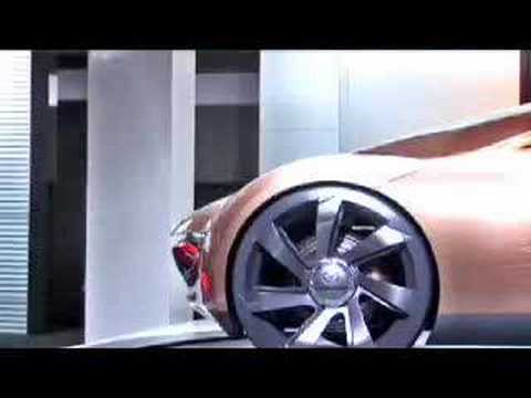 Mazda Nagare Concept introduced by Franz von Holzhausen