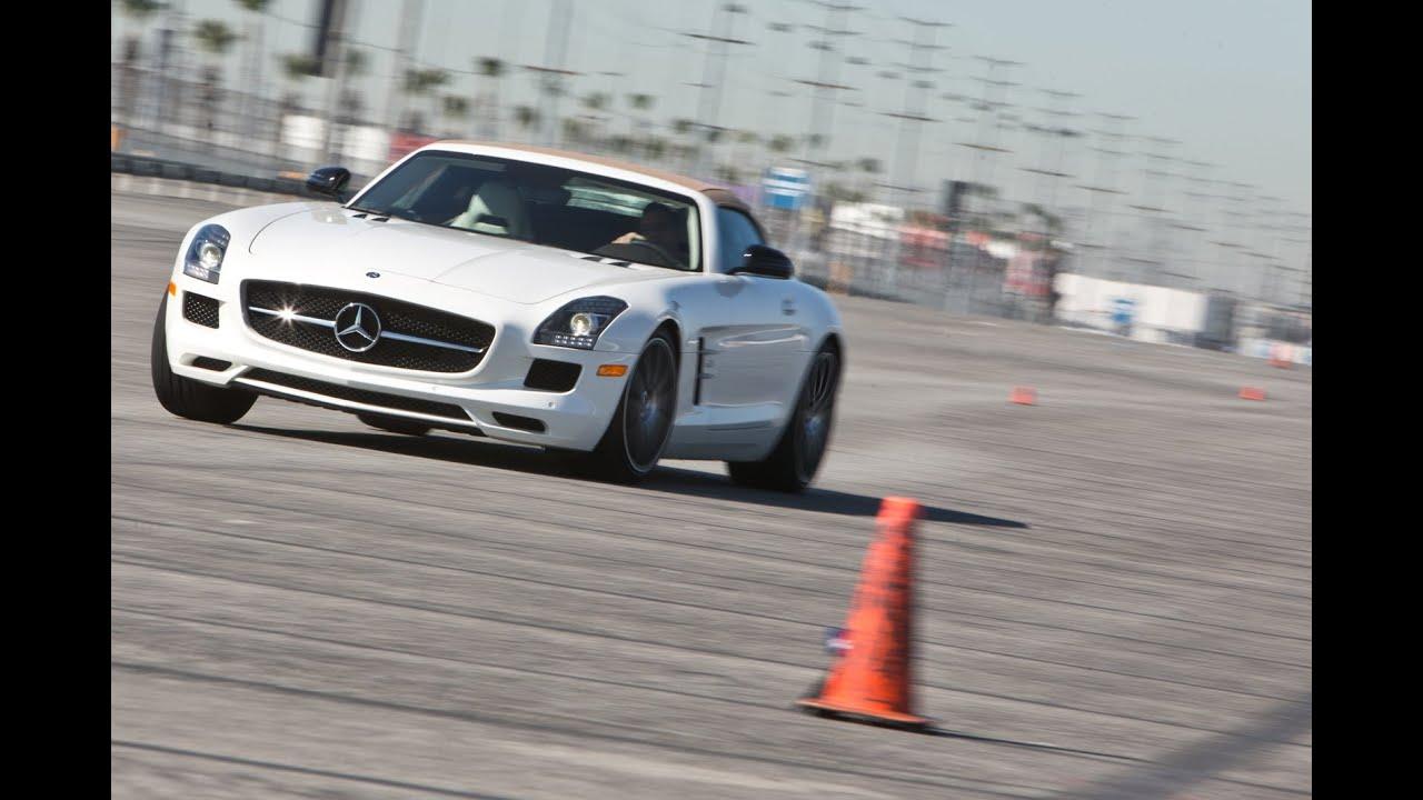 2013 Mercedes Benz Sls Amg Gt Roadster Track Tested