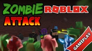 Husky_RobloxYT Roblox Zombie Attack Gameplay 10rbx to new subs