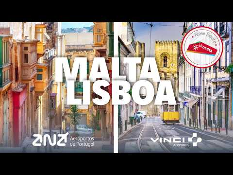 AIR MALTA VOO INAUGURAL LISBOA | AIR MALTA INAUGURAL FLIGHT TO LISBON