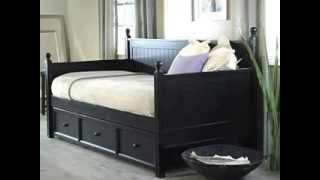 Casey Daybed With Free Mattress Black - Product Review Video