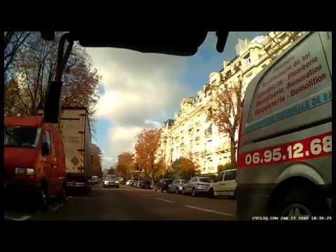 Renovation Star, Paris 75007 harassment of cyclist - 6th November 2016