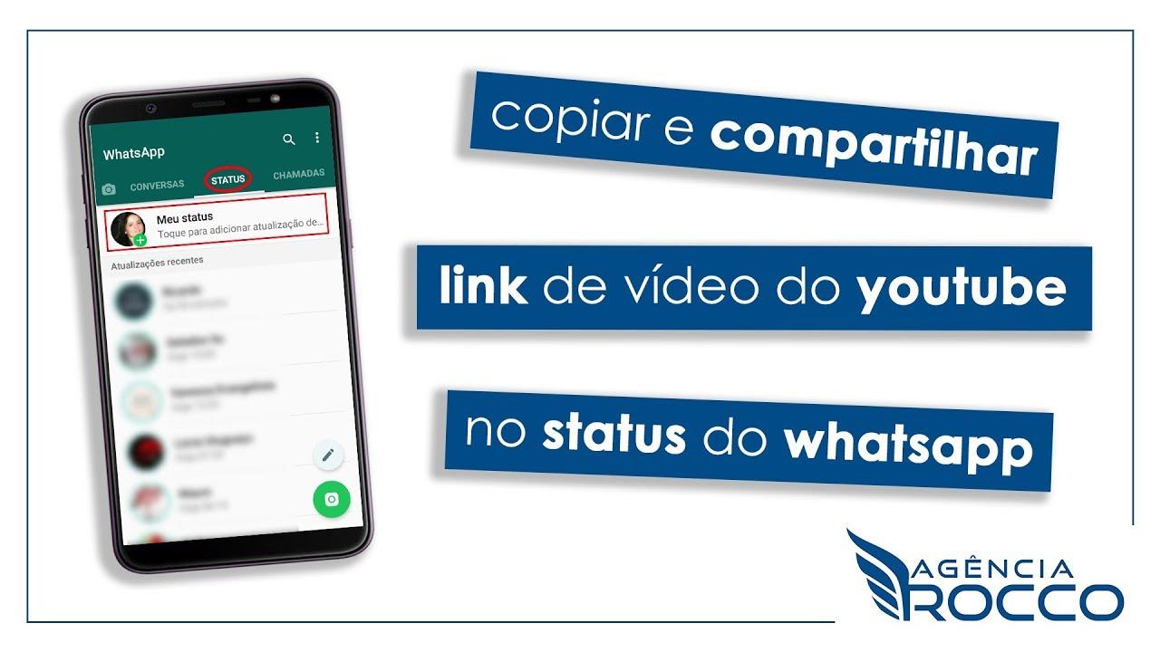 Aprenda Como Compartilhar Link Do Youtube No Status Do Whatsapp