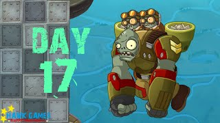 Plants vs. Zombies 2 China - Castle in the Sky - Day 17