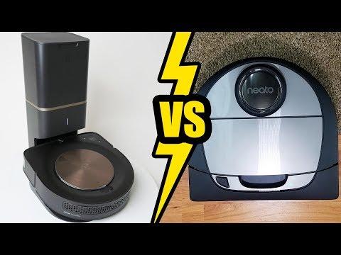 Neato D7 vs Roomba S9+ Compared & Tested