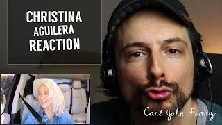 Carpool Karaoke REACTION, Christina Aguilera's 'Fall In Line'