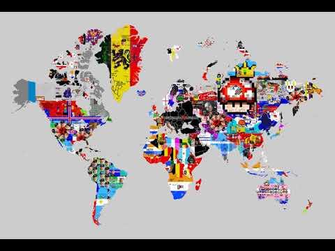 April 22, 2019 - Pixels World War - 24 Hours Time Lapse
