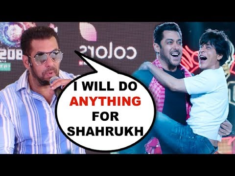 Salman Khan EMOTIONAL Talking About Zero Movie And Shahrukh Khan