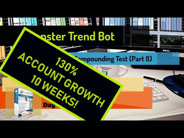 PART 8 Monster Trend Bot Banks +440 Pips TODAY UP 130% in 10 Weeks! Automated Forex Trading Software