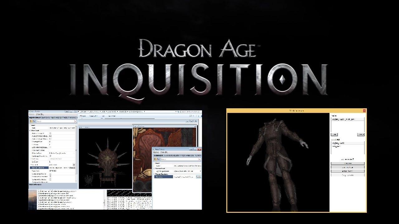 DRAGON AGE : INQUISITION - Modding Tools?