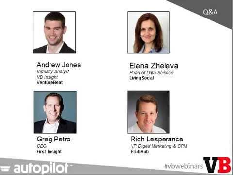Personalization - The Key to Long Term Brand Success | VentureBeat Webinar