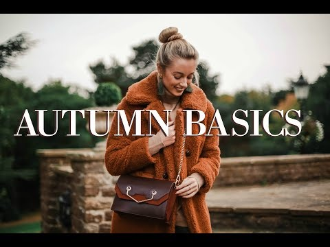 Autumn Basics // 10 Wardrobe Essentials // Fashion Mumblr