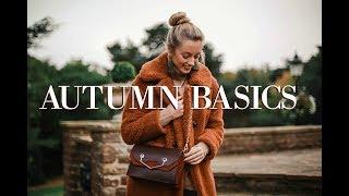 Autumn Basics // 10 Wardrobe Essentials // Fashion Mumblr