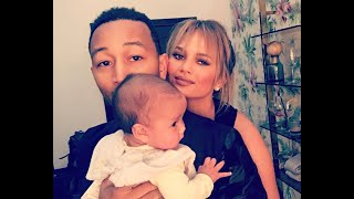 Chrissy Teigen Posted the Cutest Picture of Baby Miles with John Legend's Mom