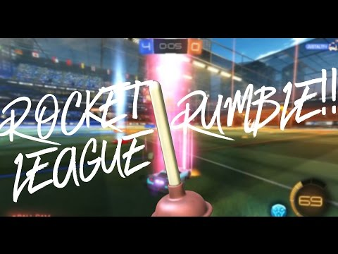 ROCKET LEAGUE RUMBLE very late