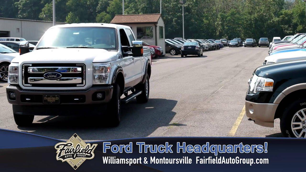 Fairfield Ford Truck Headquarters Williamsport And Montoursville