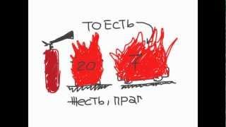 видео Техническое обслуживание порошковых огнетушителей в Москве