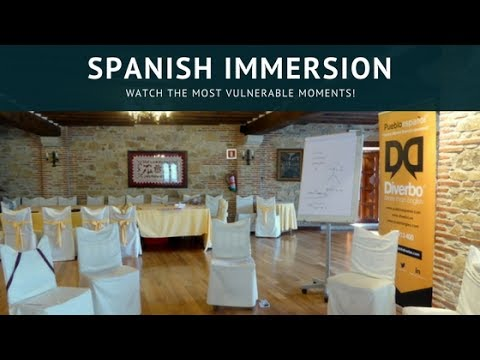 Spanish Immersion - Watch The Most Vulnerable Moments!