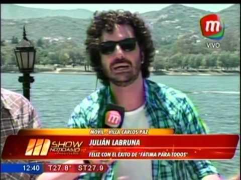 Julián La Bruna - MShow Noticias (Magazine) 19/01/2016