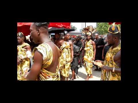 Ghana 2017 : festival d'Akwasidae (Kumasi)