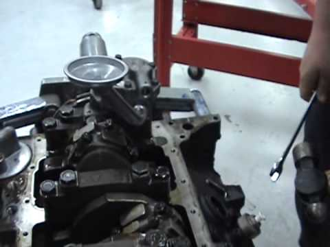How to install oil pump block off kit