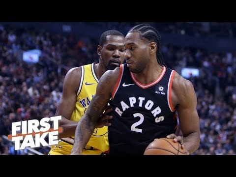 Kevin Durant is the X-factor in the Warriors vs. Raptors NBA Finals series – Stephen A. | First Take