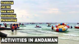 Andaman Reserved Forest trekking to Elephant beach   Travel andaman  Jet ski Ride  travel Vlog